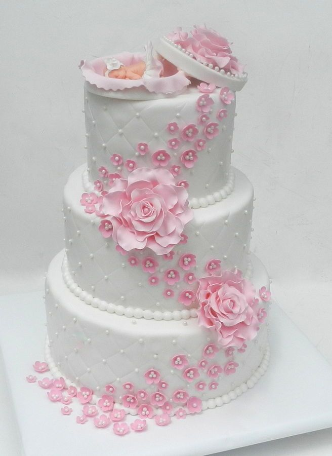 girl shower cake baby girl shower baby shower cakes christening cakes