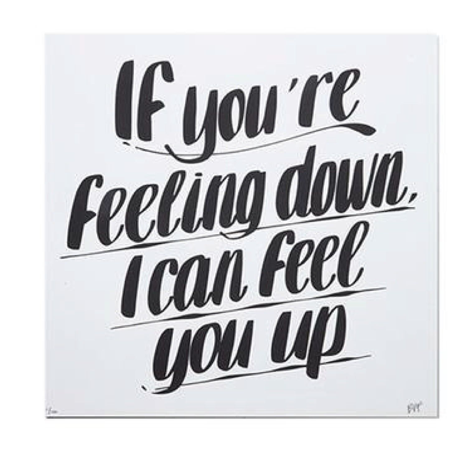 Feel You Up Print by Prospect NY