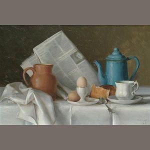 Gerald Norden. Breakfast Table.