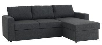 Sofa Bed Chaiselongue Havdrup Grey Sofa Bed Sofa Affordable Living Room Furniture