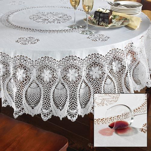 Faux Lace Tablecloth Lace Tablecloth Plastic Table Covers