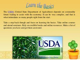 Do you want to know how buying and selling commodities can be an ...