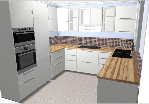 kueche-u-form-jpg.179441 575×404 Pixel | Küche | Pinterest | Küche ...
