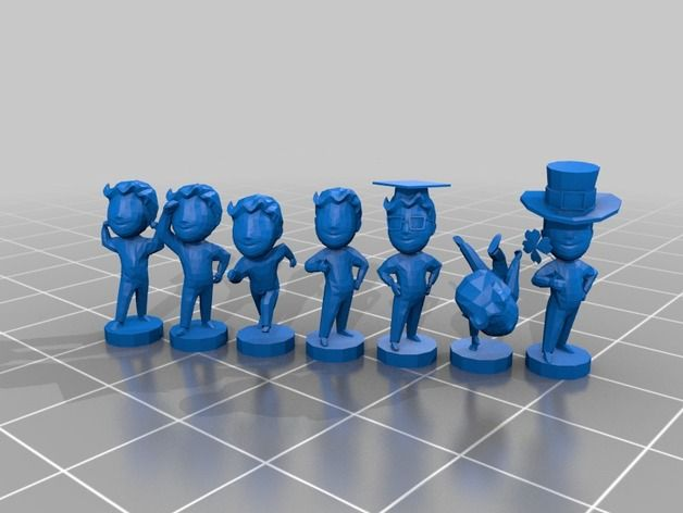 Fallout 4 Bobblehead Collection by Fragmaster - Thingiverse