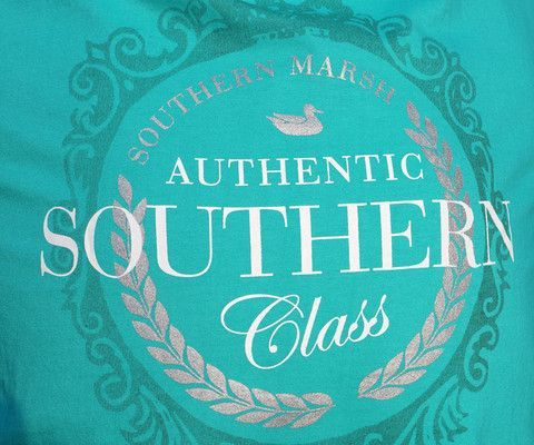 Southern Marsh Collection 鈥?Southern Marsh Southern Class | Long Sleeve | Size: Large | Color: Jockey Green