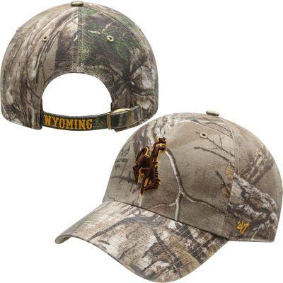 Wyoming Cowboys '47 Brand Clean Up Adjustable Hat – Realtree