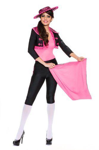 Delicious Miss Matador Costume BlackPink Large -- Click image for more details.