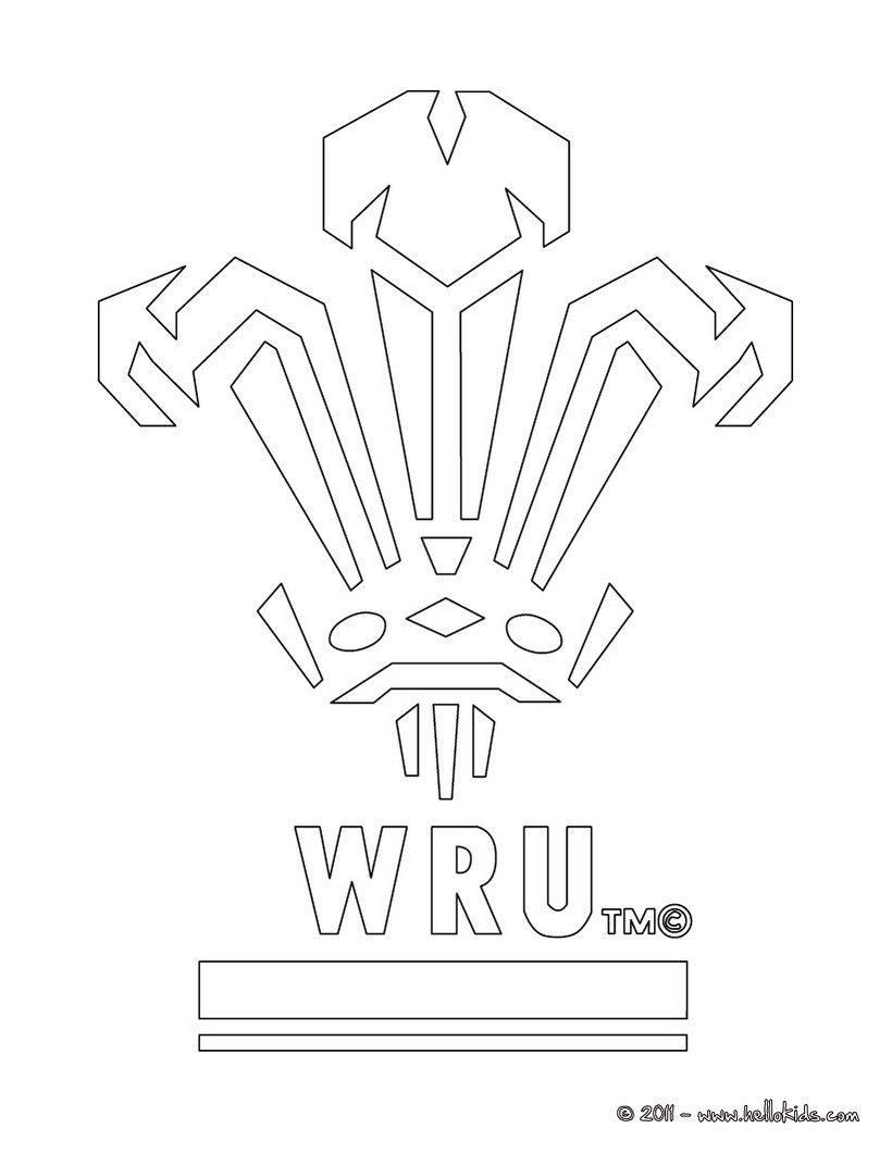 Color Online Flag Coloring Pages Wales Flag Coloring Pages