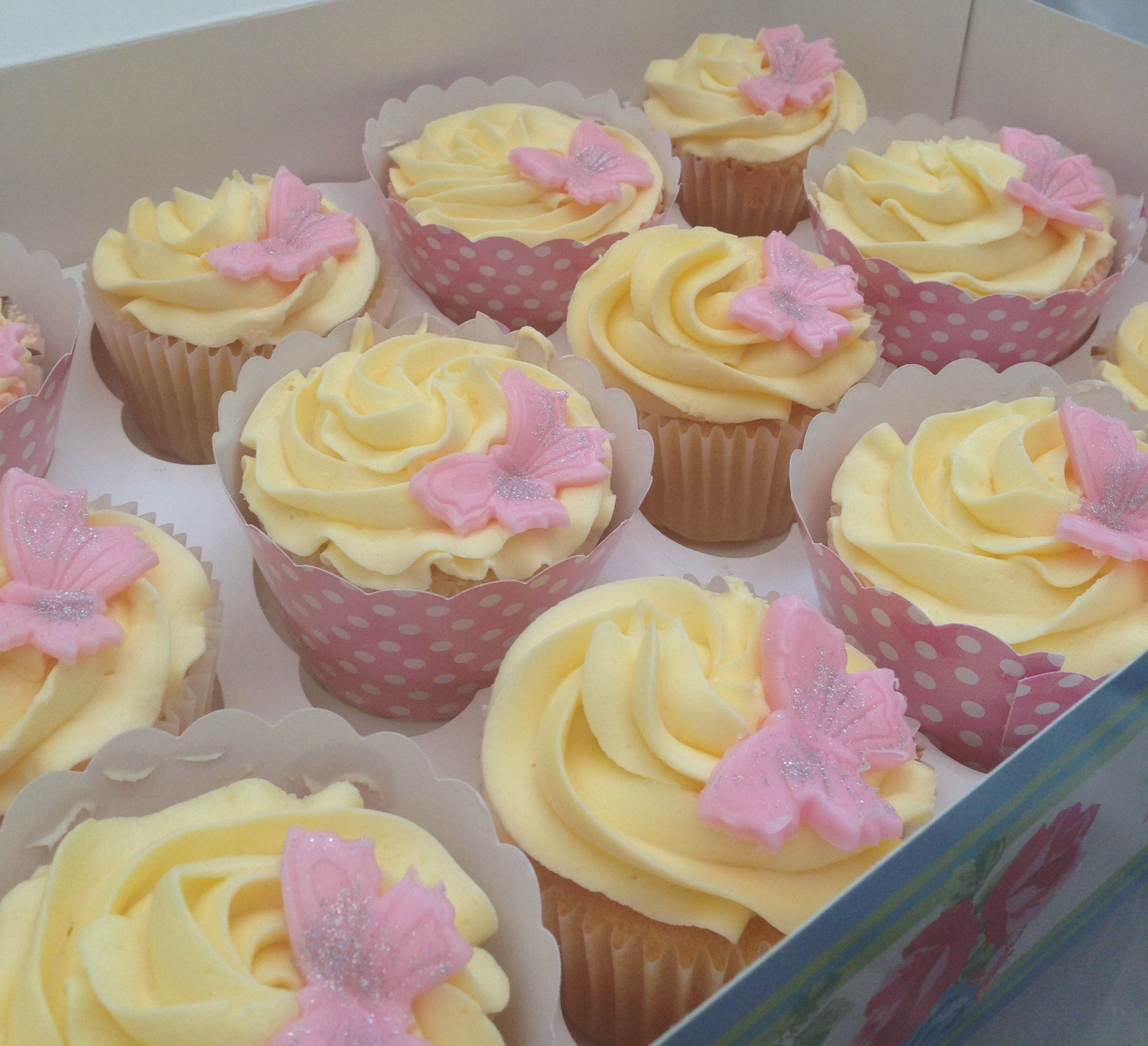 Baby Naming Ceremony Cupcakes