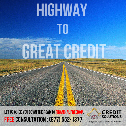 Wanna Hit The Road To Financial Freedom It All Starts With A Great Credit Score One That Will Allow You T Credit Solutions Better Credit Score Good Credit