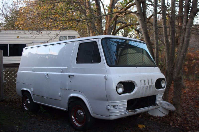 1963 Ford Econoline Van Inline 6 3 Speed Manual Transmission