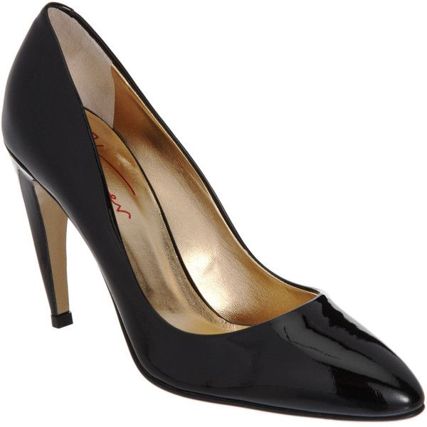 Walter Steiger Pointed Toe Pump ($635) ❤ liked on Polyvore
