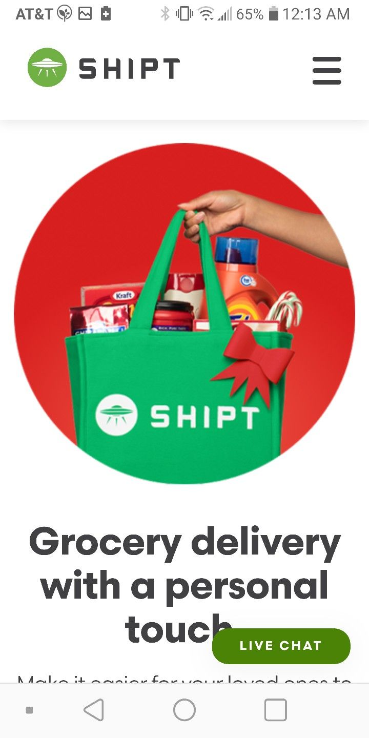 Give the gift of shipt same day delivery near me