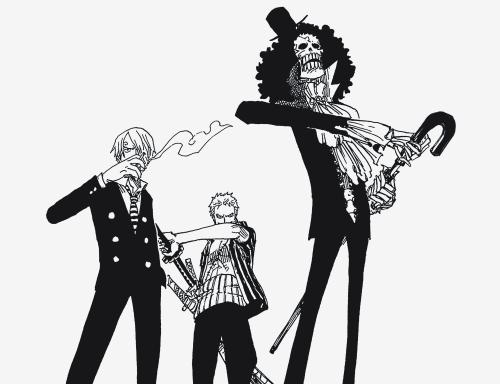 Zoro understands Luffy