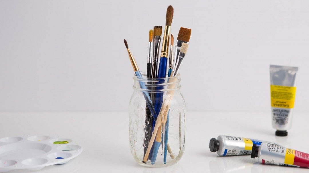 Believe it or not your paintbrushes and tools can serve