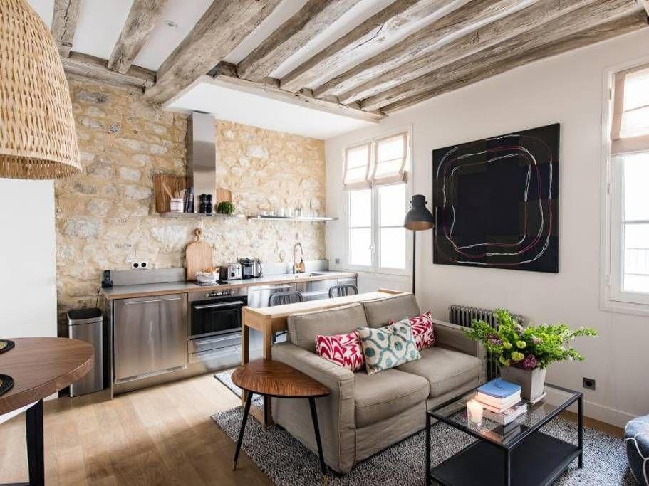 Bohemian Chic Duplex In Saint Germain - Apartments for ...