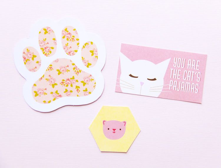 Links For FREE Cat Party Printables