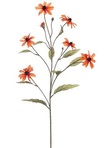 Hle Free Artificial Silk Sunflowers Rudbeckia And Orange Black Eyed Susans For Your Festive Diy Fall Arrangements That Will Last Autumn Flowers At