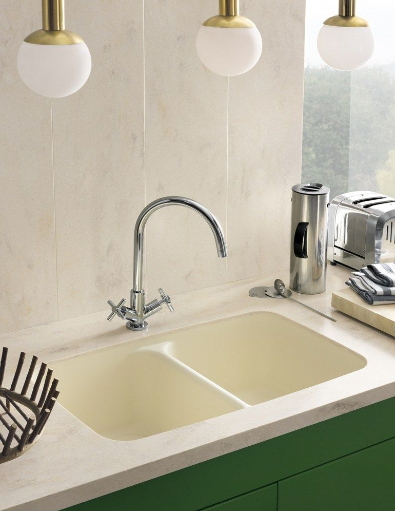 DuPontProtectionSolutions Corian® SMOOTH Lavello a 2 vasche ...