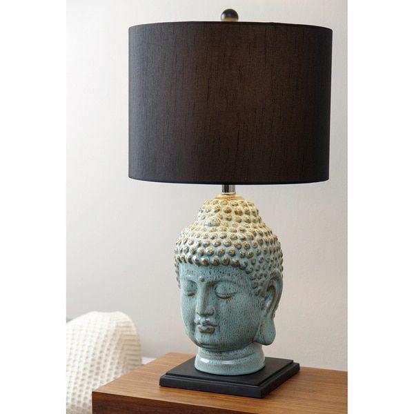 Abbyson Buddha Table Lamp   Master Bedroom Lamps