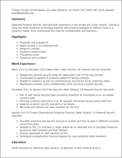 Security Cover Letter Respite Worker Cover Letter  Httpwwwresumecareerrespite