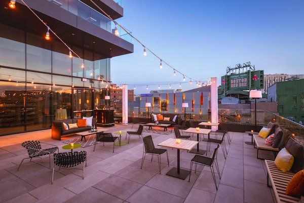 The Views Overlooking Fenway Park Just Got Better With Hotel Commonwealth S New Terrace