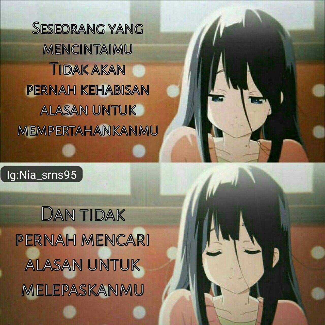 Pin oleh {S} Nana di Anime Quotes Katakata indah