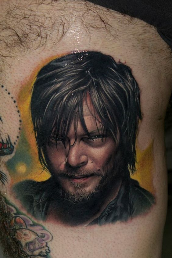 Daryl Dixon Norman Reedus From Amc Tv Show The Walking