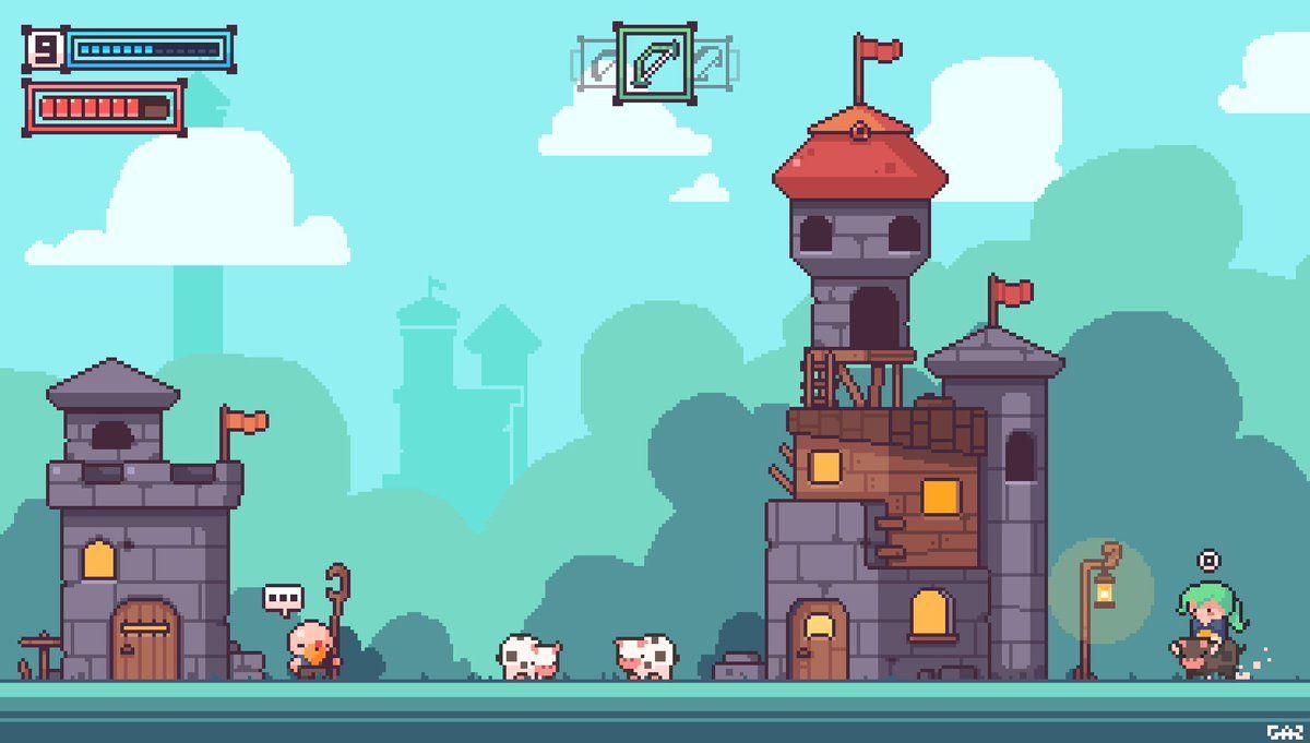 Awesome Pixel Art Game @KoolGadgetz.com