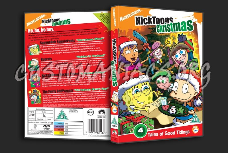 NickToons Christmas dvd cover | The Embarrassing Christmas Photo ...