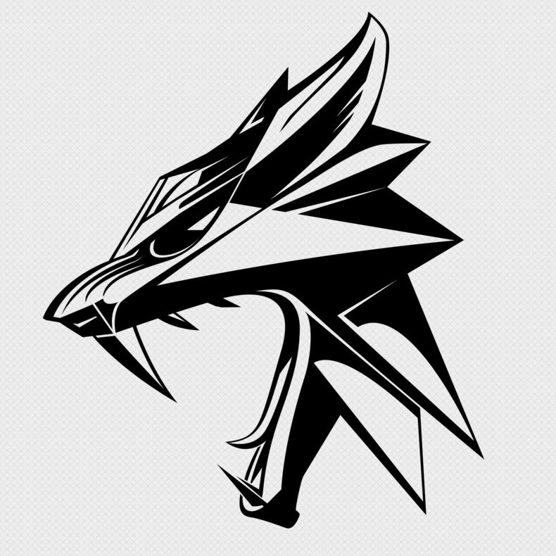 Pin By Leszek Emil Buczek On Exoskelette Witcher Tattoo The Witcher Wolf Tattoo Design