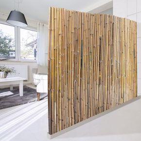 Bambus Sichtschutz | Natur | 3 Größen | Phyllostachys glauca