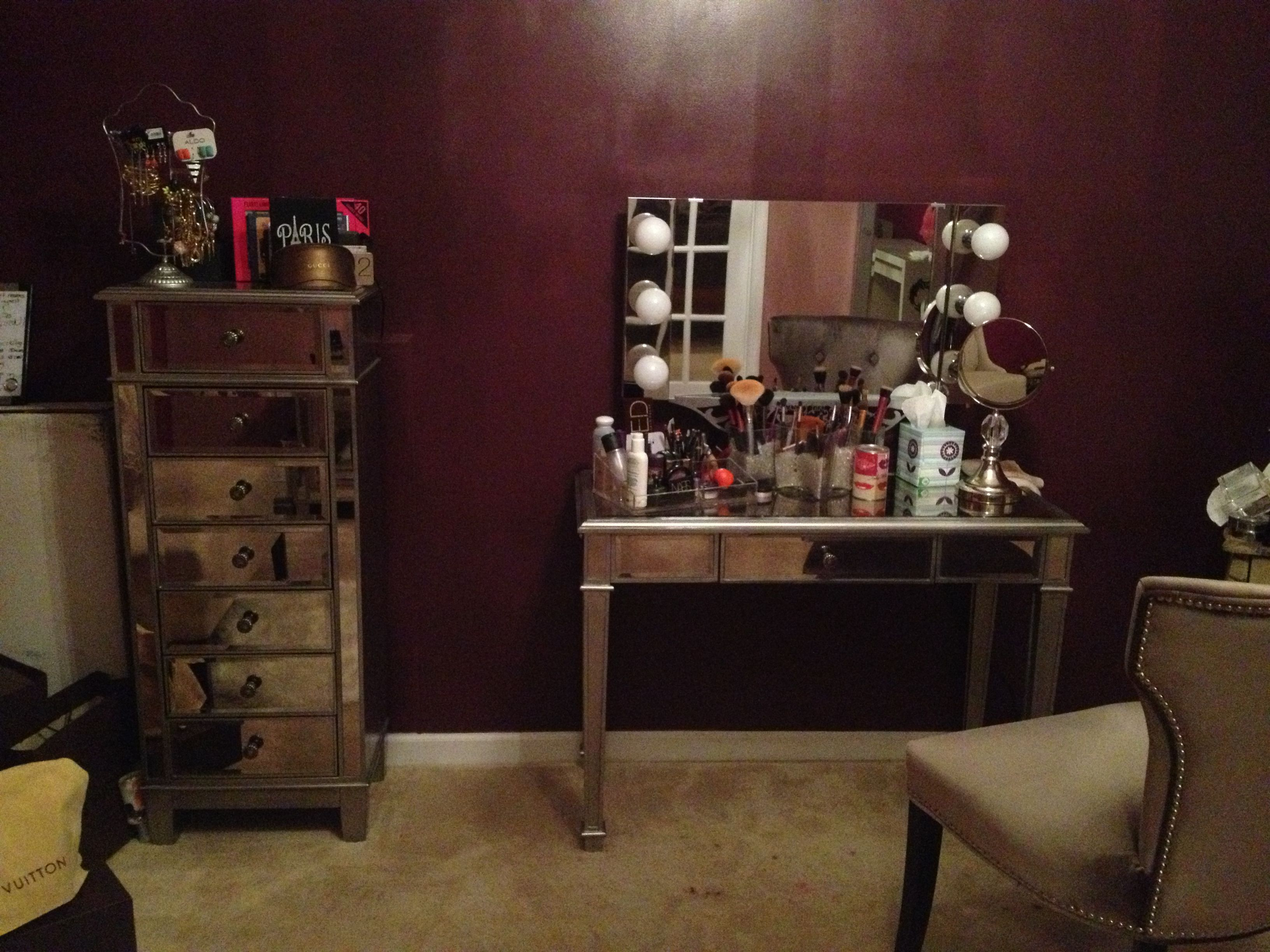 Pier 1 Hayworth Vanity And Chest Mirrored Furniture In My