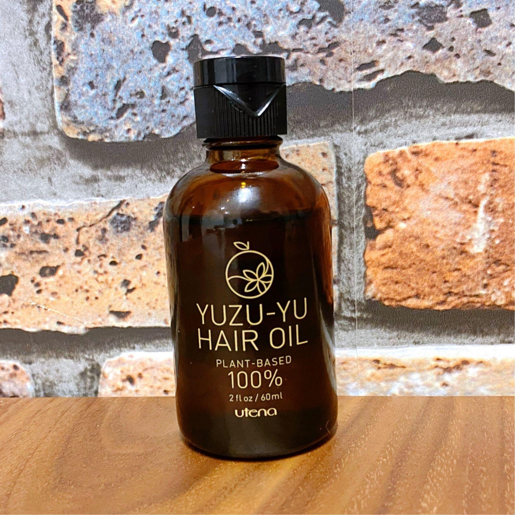 ゆず油 無添加ヘアオイル ゆずの香りがふわっと香って癒される 片手