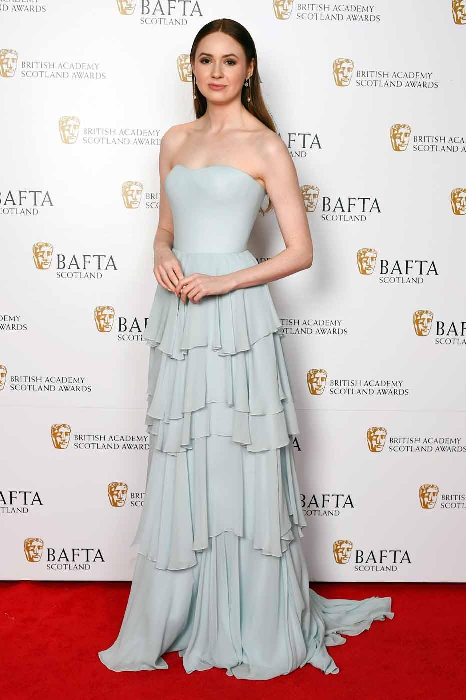 Karen Gillan In Ulyana Sergeenko Bafta Scotland Awards 04 11 2018