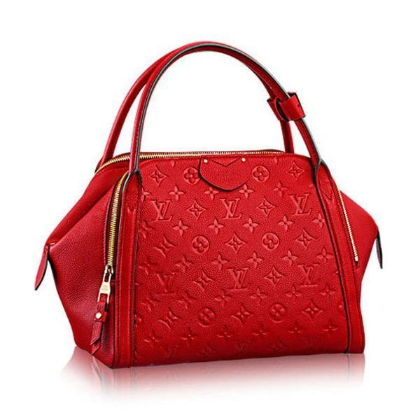 6643d187a Louis Vuitton Monogram Empreinte Marais MM M41190 Cherry   Louis ...