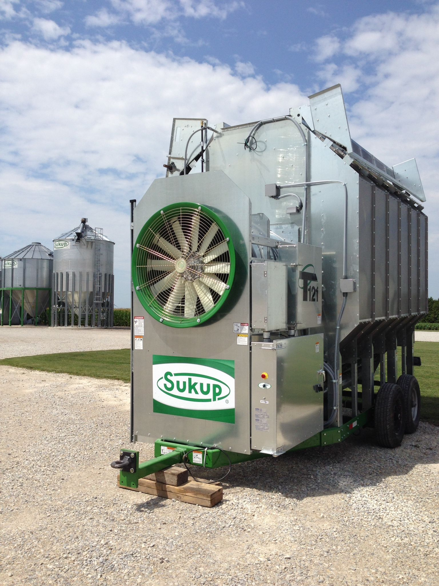 12' Sukup corn dryer getting delivered today to another