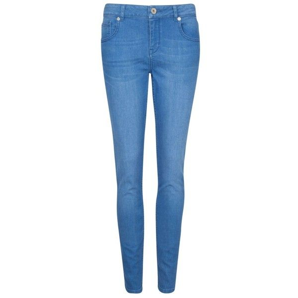 750acc619 Ted Baker Korall Mid Wash Skinny Jeans