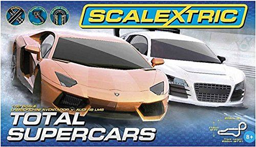 Slot Cars Scalextric C1351t Total Supercars Slot Car Race Set 132 Scale You Can Get Additional Details At T Super Cars Slot Car Racing Slot Cars