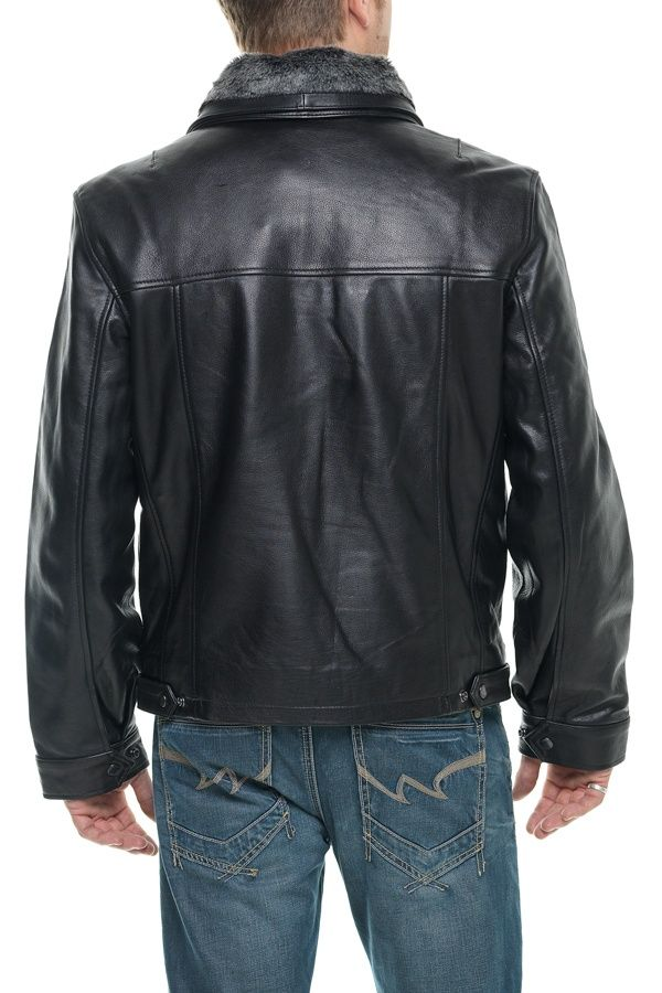 Blouson Homme Schott LC8100A BLACK | Fringues | Black