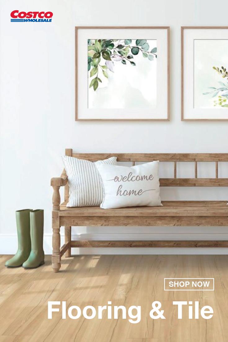 Mohawk Home Clover Run Fruit Wood Waterproof Rigid Luxury