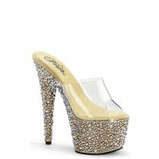 1e50bb6a21a BEJEWELED-701-MS Gold Rhinestone Platform Sandals By Pleaser ...