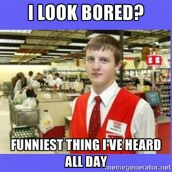6bb59a2bbdc33079b031822269dd4c2b secretly angry grocery store employee meme generator grocery