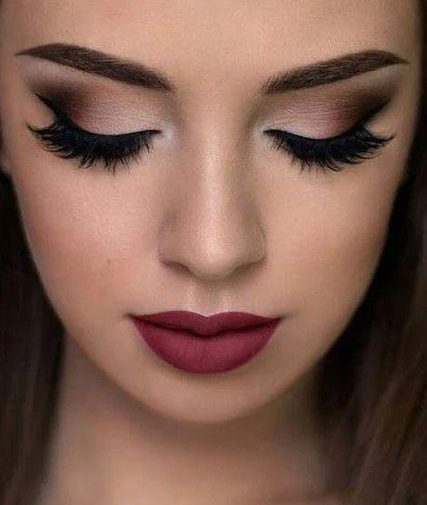 Smokey eye make up #eyeshadow #makeup