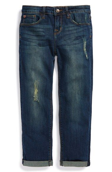 Girl's Hudson Kids 'Orion' Boyfriend Jeans