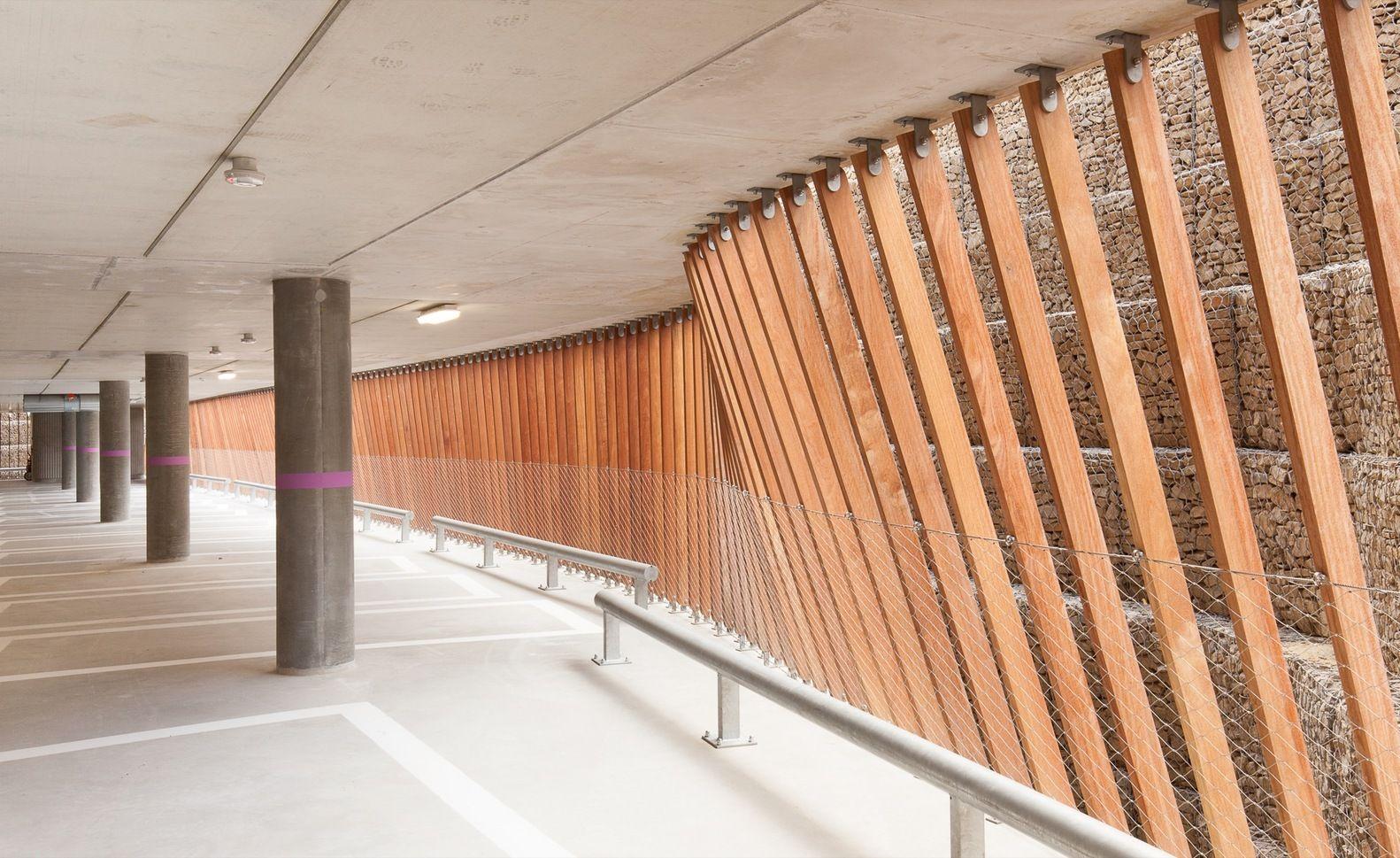 Gallery Of Parking Garage Cliniques Universitaires Saint Luc