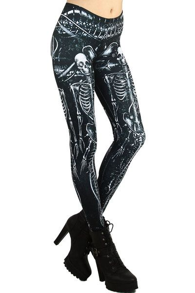 1c1b8469380d7e With all of the typical skull leggings out there, our unique Mermaid  Skeleton Leggings are