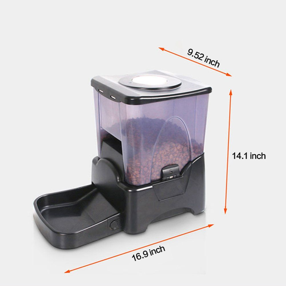 Bartonisen automatic pet feeder programmable food