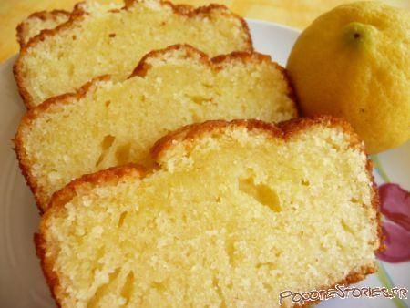 Gateau leger moelleux citron