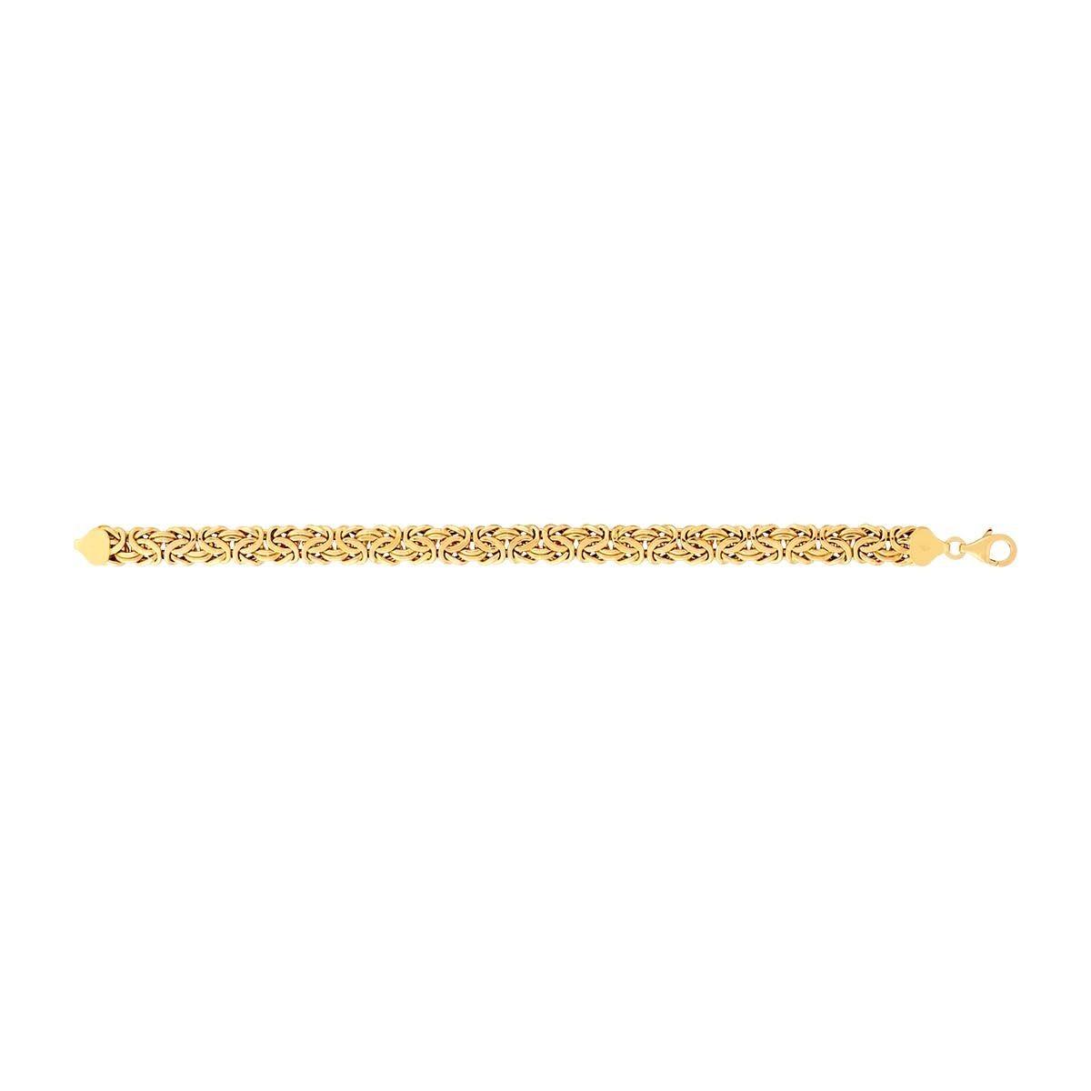 bracelet femme or 21 cm